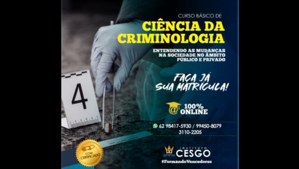 Curso Básico de Ciência da Criminologia