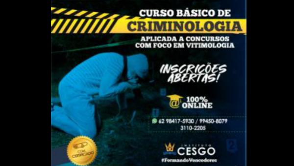 Criminologia Aplicada a Concursos – Com Ênfase em Vitimologia